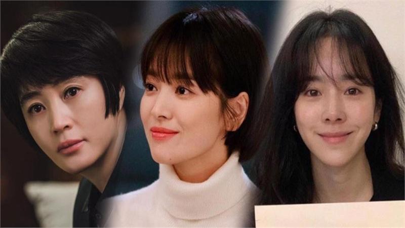 Xem cùng 1 bộ phim: Han Ji Min khóc đỏ mắt bị Han Hyo Joo phát hiện, Song Hye Kyo thì sao?