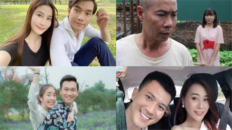 So sánh độ chênh lệch tuổi của các cặp đôi 'trai tài, gái sắc' trên màn ảnh nhỏ Việt Nam