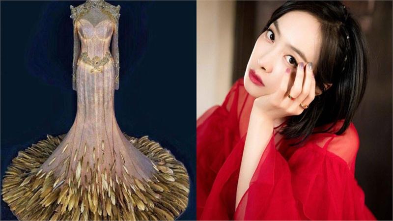 Lễ phục được công bố, dân mạng khẳng định chắc nịch Nữ thần Kim Ưng năm nay sẽ thuộc về Tống Thiến