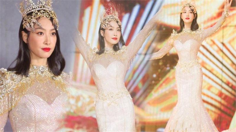 Trở thành 'Nữ thần Kim Ưng 2020' sau tin đồn gian lận phiếu bầu, Tống Thiến đáp trả cực gắt: 'Dù không chuyên nghiệp, chăm chỉ là được'