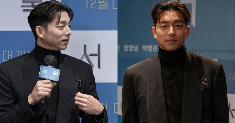 Họp báo phim mới của Park Bo Gum nhưng Gong Yoo chiếm 'spotlight' vì ngoại hình kém sắc