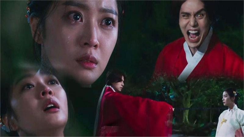 'Bạn trai tôi là hồ ly' tập 7: Jo Bo Ah khóc cạn nước mắt vì biết mình bị Lee Dong Wook giết ở tiền kiếp
