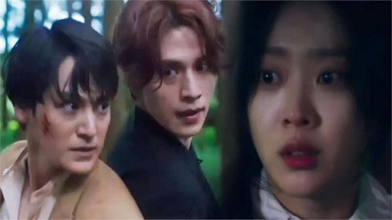 'Bạn trai tôi là hồ ly' tập 8: Bỏ mặc người tình, Lee Dong Wook xả thân cứu em trai Kim Bum trước?