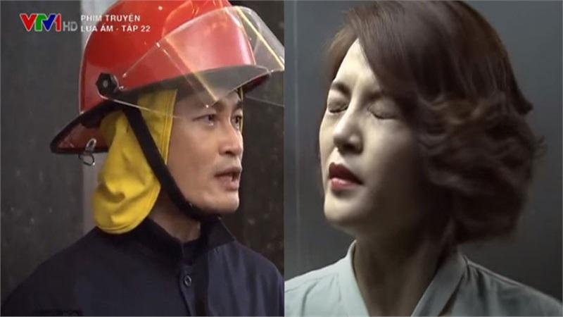 'Lửa ấm' tập 22: Thu Quỳnh thoát chết trong gang tấc nhờ sự xuất hiện kịp thời của tình cũ