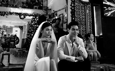 Hé lộ hậu trường trong buổi chụp ảnh cưới của Chúng Huyền Thanh và Jay Quân