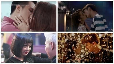 Điểm lại những nụ hôn gây sốt trên màn ảnh Việt