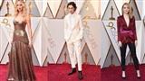 Minh tinh, tài tử Hollywood hội tụ trên thảm đỏ Oscar 2018