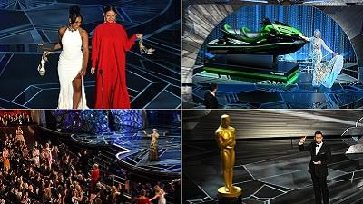 10 khoảnh khắc đáng nhớ tại lễ trao giải Oscar 2018