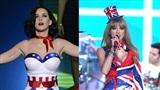 7 lần đối thủ Taylor Swift và Katy Perry 'đụng' phong cách đến bất ngờ