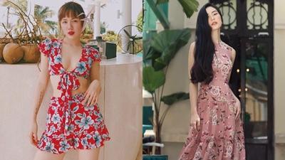 Hot girlViệt, Hàn thi nhau diện họa tiết hoa -xu hướng không thể bỏ lỡ trong mùa hè