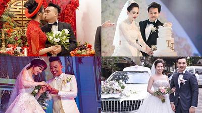 Sao Việt và những đám cưới tiền tỷ khiến công chúng phải xuýt xoa
