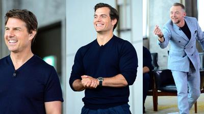 Nóng bỏng tay những hình ảnh Tom Cruise và dàn sao 'Nhiệm vụ bất khả thi' chơi Running man