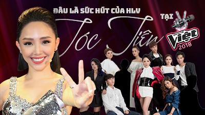 Đâu là sức hút của HLV Tóc Tiên tại The Voice 2018?