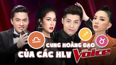 Khả năng chiến thắng của dàn HLV Giọng hát Việt 2018 theo góc nhìn cung hoàng đạo
