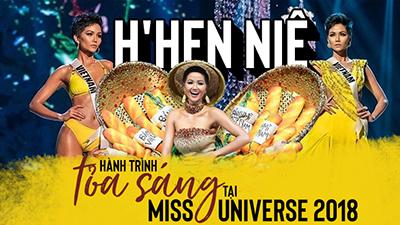 Hành trình tỏa sáng của H'Hen Niê tại Miss Universe 2018