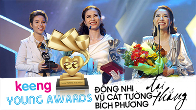 Keeng Young Awards 2018: Đông Nhi, Vũ Cát Tường, Bích Phương 'đại thắng' với rất nhiều giải thưởng lớn