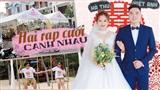 Hai rạp cưới cạnh nhau: Thay vì 3 bước là sang nhà chồng, cô dâu được rước lên xe hoa,đi vòng thành phố