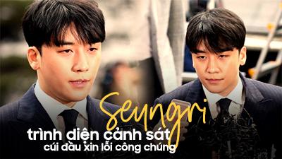 Clip Seungri trình diện cảnh sát, cúi đầu xin lỗi công chúng vì bê bối chấn động
