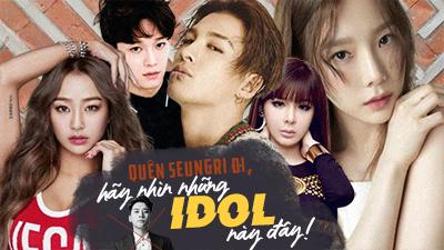 Đừng vì một Seungri mà phê phán cả Kpop, hãy nhìn những idol này đi!