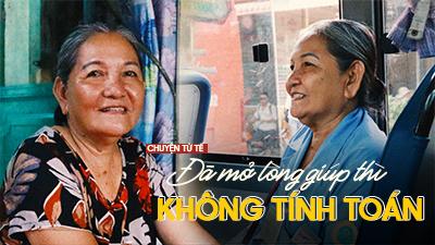 Chuyện cô lơ xe buýt nghèo vẫn cho cụ già ve chai tiền chữa bệnh: Từng bị khách lừa nhưng vẫn tin và cho