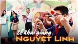 'Lễ khai giảng Nguyệt Linh': Không bóng bay, ngập tràn thông điệp bảo vệ môi trường