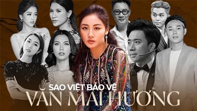 Văn Mai Hương bị phát tán clip riêng tư, dàn sao Việt lên tiếng bảo vệ