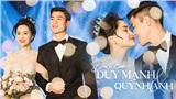 Đám cưới thuỷ tinh, Duy Mạnh - Quỳnh Anh cùng bật khóc trước câu nói của bố vợ