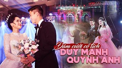 Đám cưới cổ tích Duy Mạnh - Quỳnh Anh: Loạt khoảnh khắc 'lịm tim' và những con số gây 'choáng'