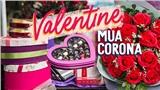 Valentine mùa Corona: Hoa và quà rẻ hơn năm ngoái nhưng các sạp hàng vẫn hiu hắt vắng bóng người mua
