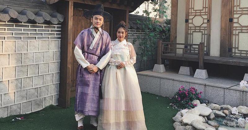 Gia đình bỉm sữa Trang Lou – Tùng Sơn kỷ niệm 2 năm ngày cưới ở Hàn Quốc