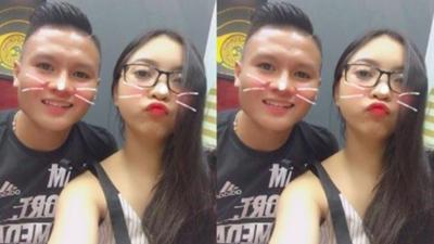 Nhìn ảnh tình tứ của Quang Hải và người yêu, các cô gái chỉ muốn 'đập hoa cướp chậu'