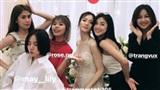 Dàn hot girl quy tụ, chụp ảnh 'lầy lôi' tại lễ đính hôn của JustaTee và Trâm Anh