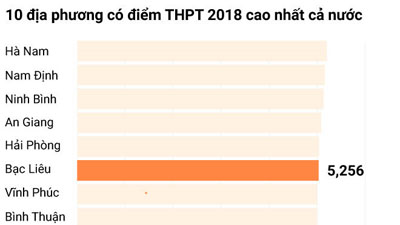Bộ GD&ĐT chấm thẩm định điểm thi tại Lâm Đồng, Bến Tre