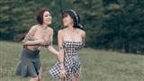 Cô gái chụp ảnh phản cảm cùng Á hậu Thư Dung từng chụp bộ ảnh Tuyệt Tình Cốc 'hớ hênh' không kém