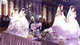 Đám cưới 1 chú rể, 2 cô dâu cùng tiến vào lễ đường khiến nhiều người xôn xao