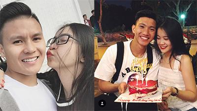 Tất tần tật khoảnh khắc 'tình bể bình' của các tuyển thủ U23 Việt Nam với bạn gái