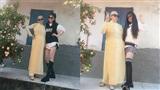 Bà ngoại 75 tuổi thích mặc áo dài chụp ảnh như model, rất rành xài MXH