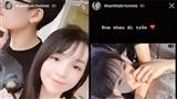 Phan Hoàng và bạn gái xinh đẹp khoá môi cực ngọt khi 'đưa nhau đi trốn' vào dịp cuối tuần