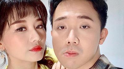 Hari Won bị Trấn Thành bóc mẽ làm biếng: 'Làm không làm, chỉ phá'