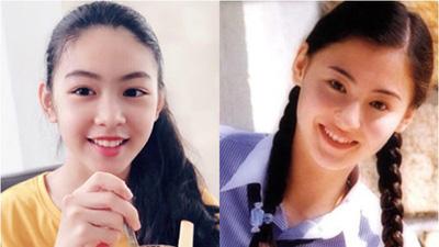 Con gái lớn của MC Quyền Linh: Mới 14 tuổi đã cao 1m70, nhan sắc chưa chi đã được so với hết hoa hậu tương lai lại đến bản sao của Trương Bá Chi