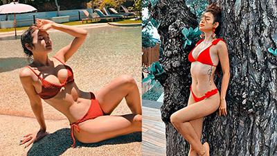 Đánh bại Ngọc Trinh, đây mới là 'nữ hoàng bikini' mới của showbiz Việt