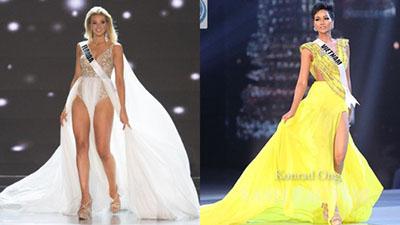 Ứng viên Hoa hậu Mỹ chơi trội khi cover cú xoay váy 'thần thánh' của H'Hen Niê