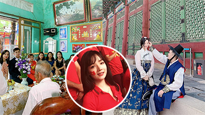 Nữ CĐV Việt 'hot' tại ASIAD từng lên báo Hàn bất ngờ lấy chồng ở tuổi 22