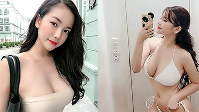Danh tính cô gái Việt được báo Trung khen ngợi hết lời vì nhan sắc xinh đẹp cùng vòng 1 'khủng' 108cm