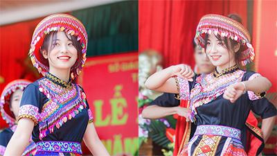 Múa 'Để Mị nói cho mà nghe', nữ sinh Thái Nguyên gây 'thương nhớ' vì quá xinh xắn