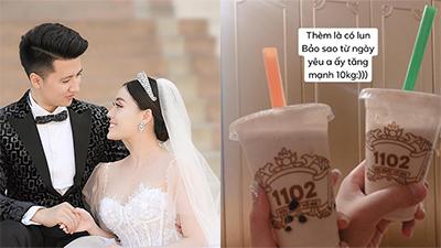 Nữ giảng viên xinh như hotgirl Âu Hà My tung ảnh cưới, tiết lộ tăng 10kg sau khi yêu bạn trai thiếu gia
