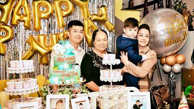 Hậu đấu tố nhau qua mạng, Nhật Kim Anh và chồng cũ cùng ngồi lại tổ chức tiệc sinh nhật đón tuổi mới cho con trai