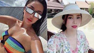 Cuối tuần của các hot mom: Meo Meo khoe dáng sexy bỏng mắt trên biển Maldives, Hằng Túi trẻ như gái 20 ở xứ sở chùa vàng