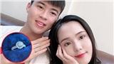 'Công chúa béo' Quỳnh Anh hí hửng khoe nhẫn hột xoàn lóa mắt, phải chăng Duy Mạnh đã cầu hôn bạn gái?