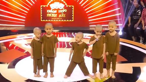 5 chú tiểu Bồng Lai bất ngờ tái xuất 'Thách thức danh hài', tiếp tục ẵm giải thưởng 150 triệu đồng?